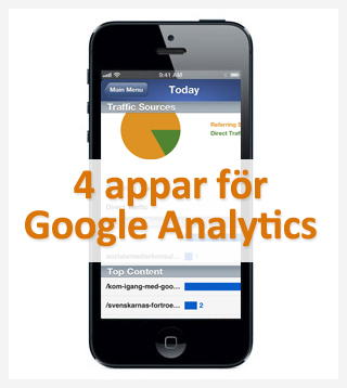 4 Google Analytics-appar