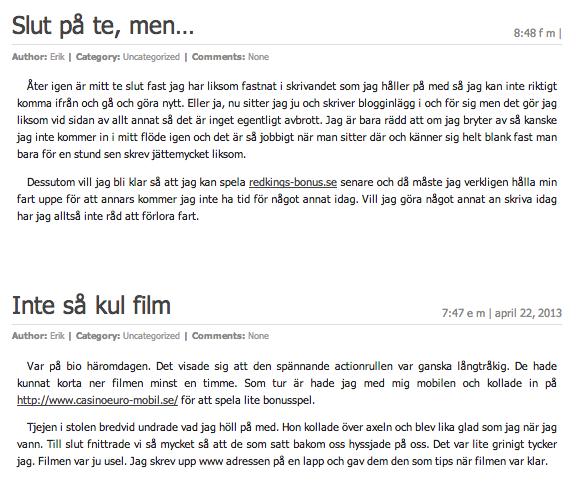 Blogginlägg på True-consulting.se