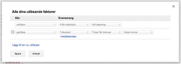 Se till att din Google Analytics data hämtas automatiskt