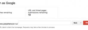 Indexera ditt innehåll snabbare med Google