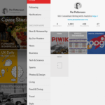 Min Flipboard-profil med mina tidningar som jag fyller med innehåll