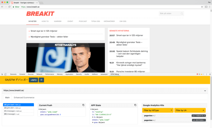 Säkerställ din Google Tag Manager implementation i Chrome