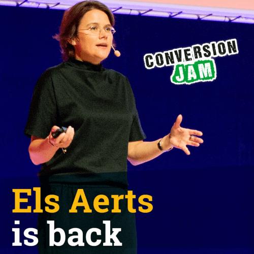 Els Aerts är tillbaka på Conversion Jam-scenen.