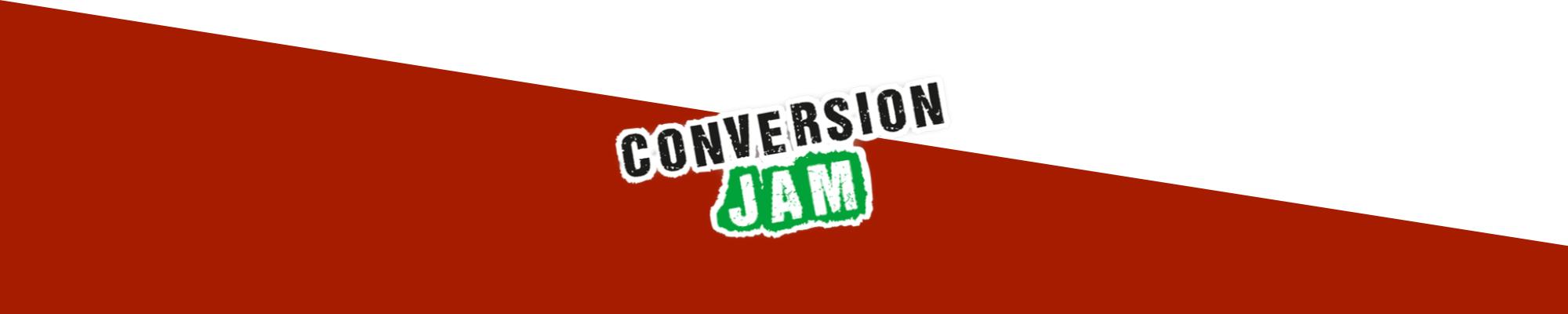 Conversion Jam, arrangerat av Conversionista!