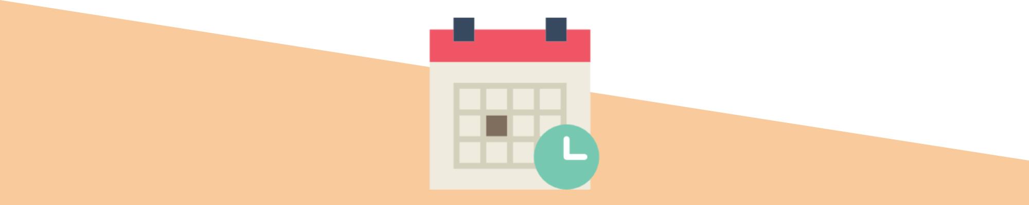 Möjligheten att ändra datumintervallet i Google Analytics.